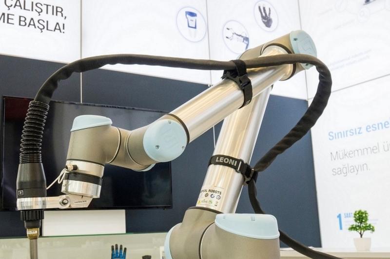 Robotlu kaynak uygulamasına mobil çözüm
