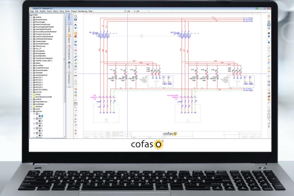 Mert Gerçek; Cofaso elektrik CAD branşında tek Türk üretici olarak bu pazardaki liderliği devam ediyor.